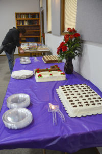 70th Anniversary Desert Table