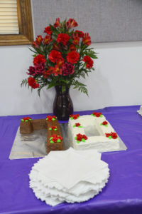 70th Anniversary Centerpiece