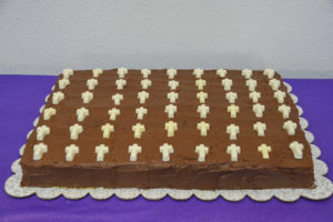 70th Anniversary Chocolate Cake