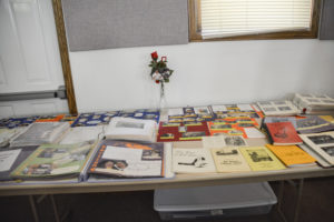 70th Anniversary Memory Table
